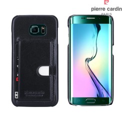 Samsung Galaxy S6 Edge - G925 - Pierre Cardin Hard case - Black (8719273214367)