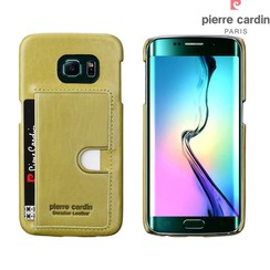 Pierre Cardin Backcover voor Samsung Galaxy S6 Edge - Groen