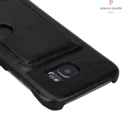 Samsung Galaxy S7 Edge - G935F - Pierre Cardin Hard case - Black (8719273214466)