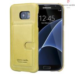 Pierre Cardin Backcover voor Samsung Galaxy S7 Edge - Groen