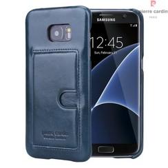 Pierre Cardin Backcover voor Samsung Galaxy S7 Edge - D Groen