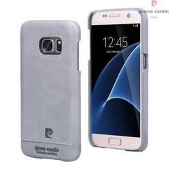 Pierre Cardin Backcover voor Samsung Galaxy S7 Edge  - Grijs