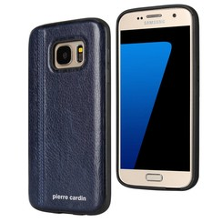 Pierre Cardin silicone back cover Sapphire Blue for Samsung Galaxy S7 (8719273131022)