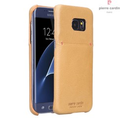 Samsung Galaxy S7 Edge - G935F - Pierre Cardin Hard case - Yellow (8719273214176)
