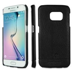 Pierre Cardin Backcover voor Samsung Galaxy S6 Edge - Zwart