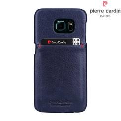 Samsung Galaxy S6 Edge - G925 - Pierre Cardin Hard coque - Sapphire Bleu (8719273214107)