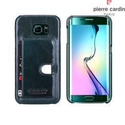 Pierre Cardin Backcover voor Samsung Galaxy S6 Edge - D Groen