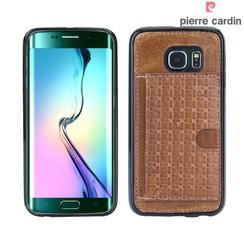Samsung Galaxy S6 Edge - G925 - Pierre Cardin Silicone case - Brown (8719273214619)