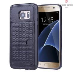 Samsung Galaxy S7 - G930F - Pierre Cardin Silicone case - Black (8719273214633)