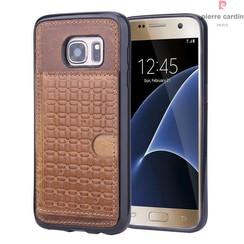 Samsung Galaxy S7 - G930F - Pierre Cardin Silicone case - Brown (8719273214640)