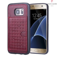 Samsung Galaxy S7 - G930F - Pierre Cardin Silicone coque - rouge (8719273214657)