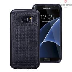 Samsung Galaxy S7 Edge - G935F - Pierre Cardin Silicone coque - noir (8719273214664)