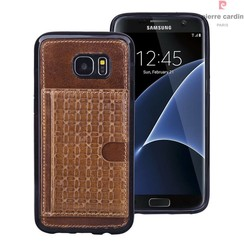 Samsung Galaxy S7 Edge - G935F - Pierre Cardin Silicone case - Brown (8719273214671)