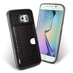 Samsung Galaxy S6 Edge - G925 - Pierre Cardin Silicone case - Black (8719273214787)