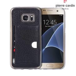 Samsung Galaxy S7 - G930F - Pierre Cardin Silicone case - Black (8719273214817)