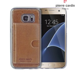 Samsung Galaxy S7 - G930F - Pierre Cardin Silicone case - Brown (8719273214824)