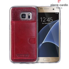 Samsung Galaxy S7 - G930F - Pierre Cardin Silicone coque - rouge (8719273214831)