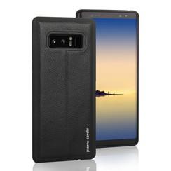 Pierre Cardin Backcover voor Samsung Galaxy Note 8 - Zwart