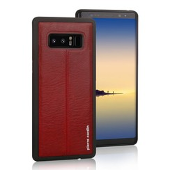 Pierre Cardin Backcover voor Samsung Galaxy Note 8 - Rood