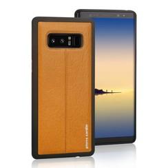 Pierre Cardin silicon coque pour Samsung Note 8 - Jaune (8719273140970)