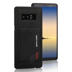 Pierre Cardin silicon coque pour Samsung Note 8 - Noir (8719273140994)