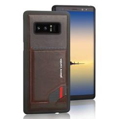 Pierre Cardin silicon coque pour Samsung Note 8 - D Marron (8719273141021)
