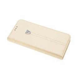 Samsung Galaxy S8 Titulaire de la carte Or Book type housse - Fermeture magnétique