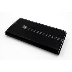 Samsung Galaxy S7 Edge Titulaire de la carte Noir Book type housse - Fermeture magnétique