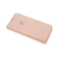 Samsung Galaxy S8 Titulaire de la carte Rose Book type housse - Fermeture magnétique