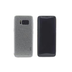 TPU Coque pour Samsung Galaxy S8 - Argent (8719273252642)