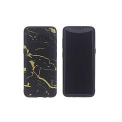 TPU Coque pour Samsung Galaxy S8 - Noir (8719273253359)