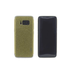 Silicone case for Samsung Galaxy S8 Plus - Gold (8719273252666)