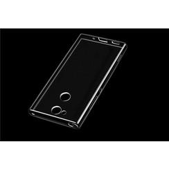 Silicone case for Xperia XA2  - Transparent (8719273275573)