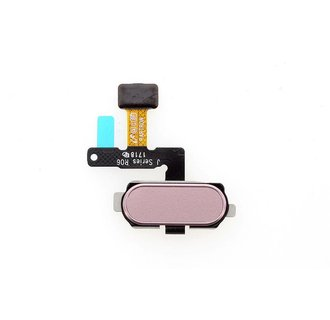 Home Button voor Galaxy J530F - Zilver Paars (8719273148174)