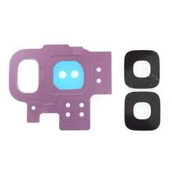 Camera Lens voor Galaxy S9 - Zilver Paars (8719273148129)