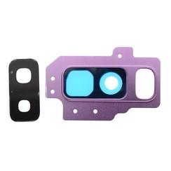Camera Lens voor Galaxy S9+ - Zilver Paars (8719273148143)