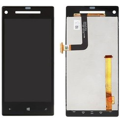 LCD display (LCD Display) voor HTC Windows Phone 8S - Zwart (8719273137901)