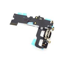Onderdeel Power Connector voor Apple iPhone 7 - Zwart (8719273138397)