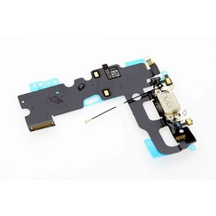 Onderdeel Power Connector voor Apple iPhone 7 - Wit (8719273138410)