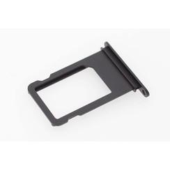 Onderdeel Sim holder voor Apple iPhone 7 - Zwart (8719273138427)