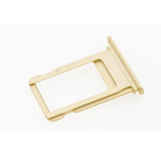 Onderdeel Sim holder voor Apple iPhone 7 - Goud (8719273138434)