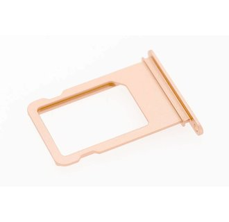 Onderdeel Sim holder voor Apple iPhone 7 - Roze (8719273138441)