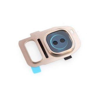 Home button voor Samsung Galaxy S7 Edge - Goud (8719273138472)