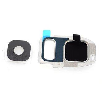 Home button voor Samsung Galaxy S7 Edge - Zilver (8719273138489)