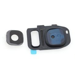 Home button voor Samsung Galaxy S7 Edge - Zwart (8719273138496)