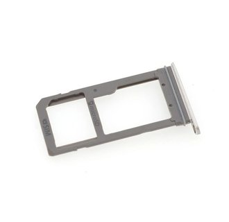 Sim holder voor Samsung Galaxy S7 Edge - Zilver (8719273138502)