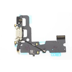 C/C + Mic voor iPhone 7 - Wit (8719273257197)