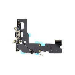 C/C + Mic voor iPhone 7 Plus - Zwart (8719273257210)