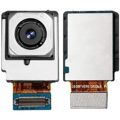 Big Cam voor Galaxy S7 Edge - Zwart (8719273256558)