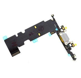 C/C Flex voor iPhone 8 Plus -Wit - Zwart (8719273265864)